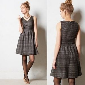 ANTHROPOLOGIE Glissade Tweed Dress {BB49}
